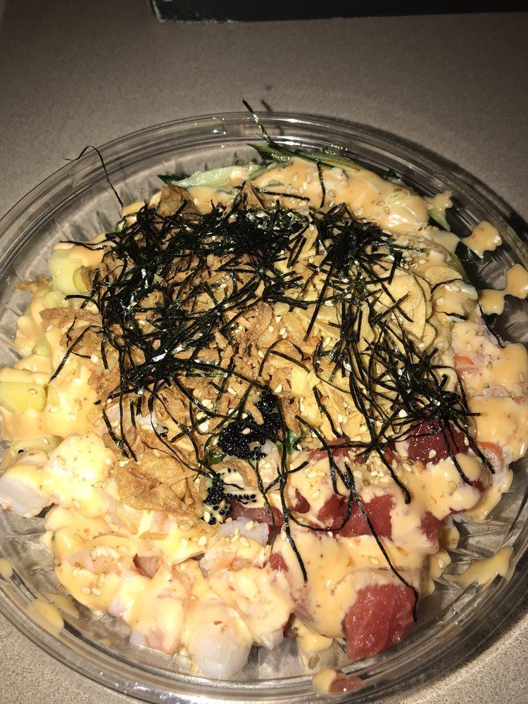 Food from Honolulu Poke House