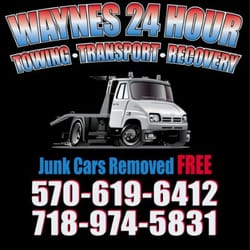 24 Hour Junk Cars >> Wayne S 24 Hour Towing Service 18 Photos Roadside Assistance