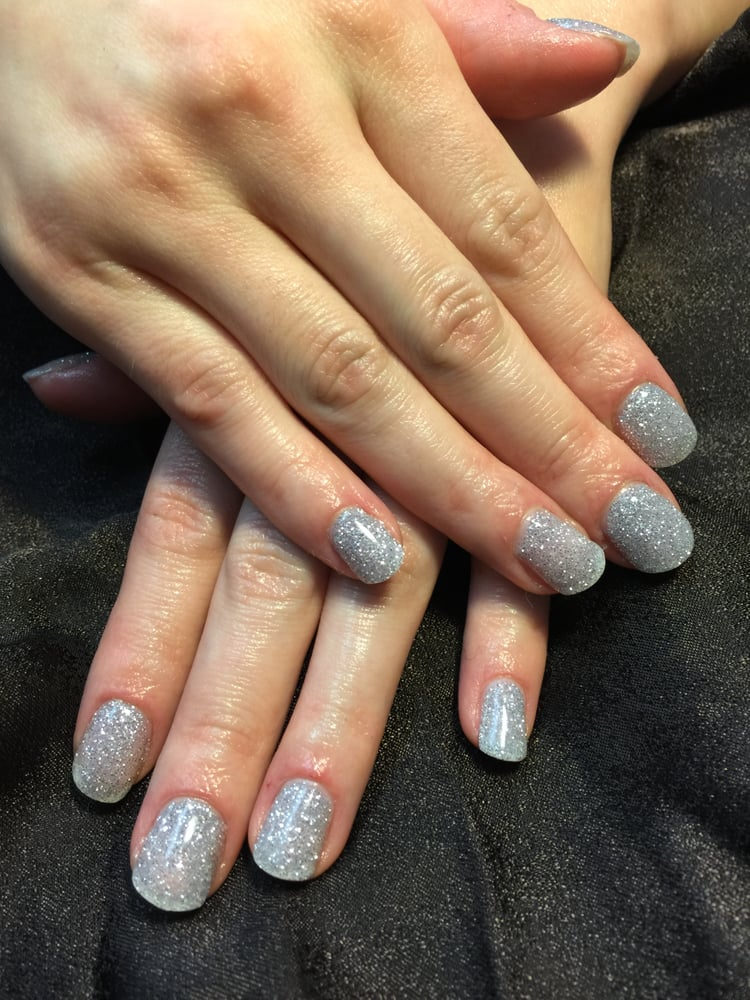 Diamonds are a girls best friend, ANC Diamond nails, a nice ...
