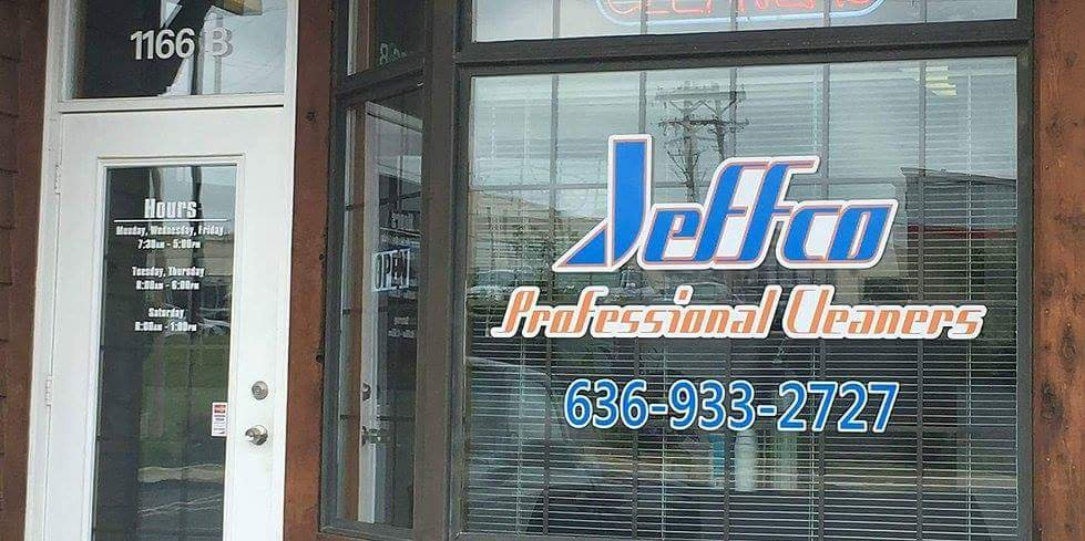 Jeffco Professional Cleaners: 1166 B E Gannon Dr, Festus, MO