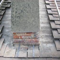 Photo Of Arrow Roofing   Brighton, United Kingdom. Chimney Front Apron  ,side Soakers