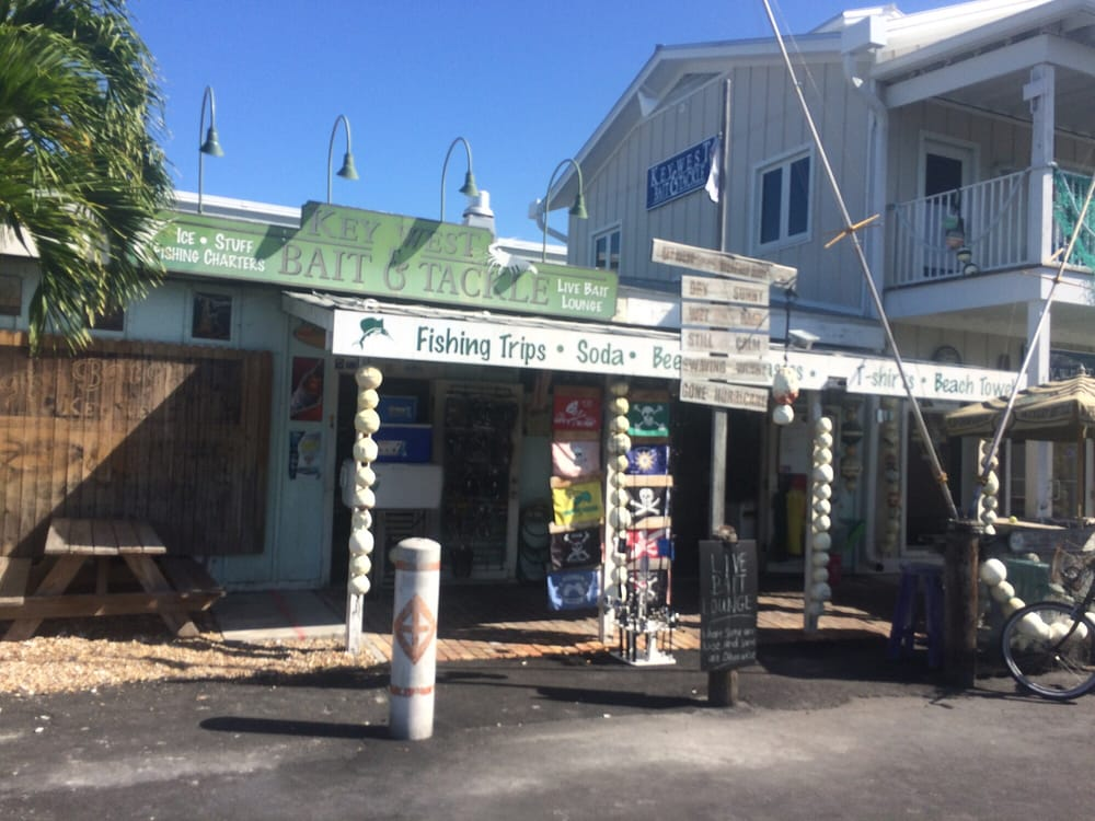 Key West Bait & Tackle: 241 Margaret St, Key West, FL