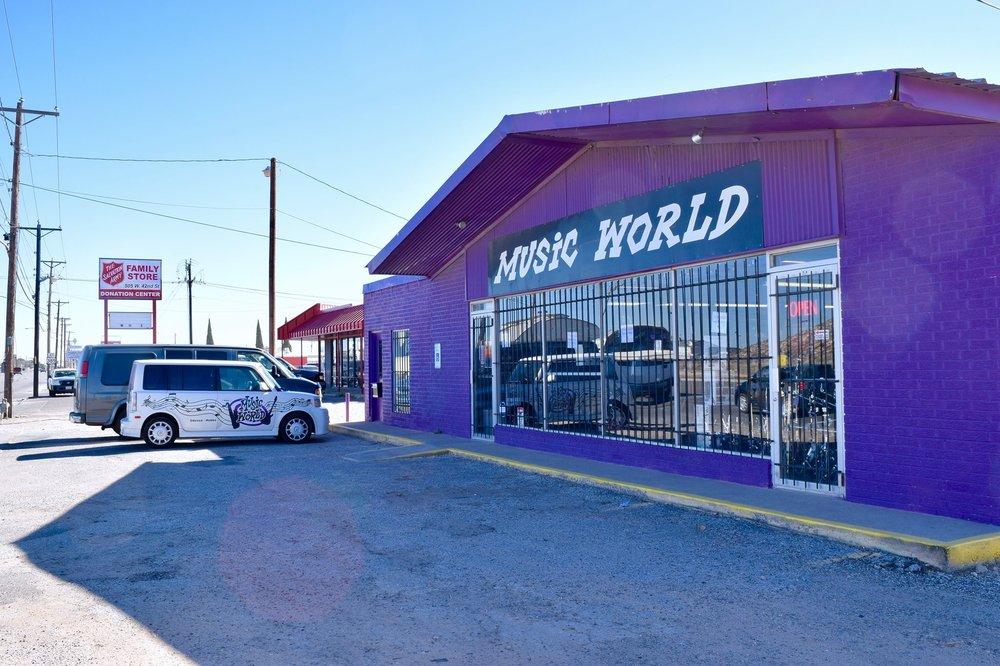 Music World: 515 W 42nd St, Odessa, TX