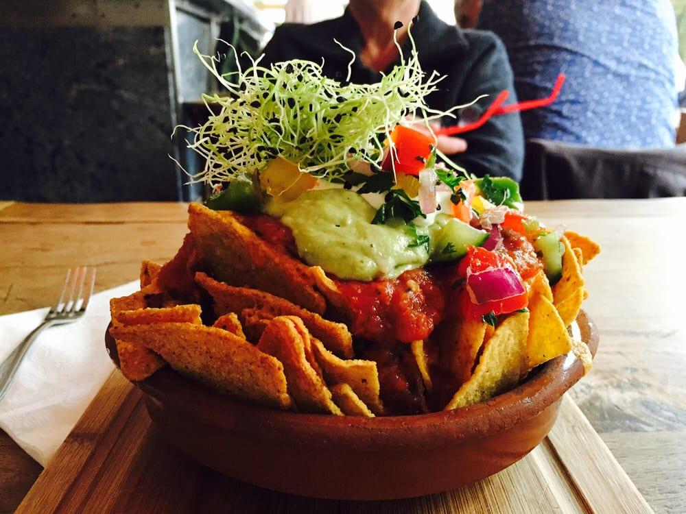 Holy moly beef nachos yelp for Harlem food bar yelp
