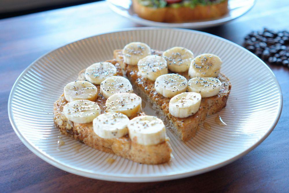Food from Cream & Sugar Cafe