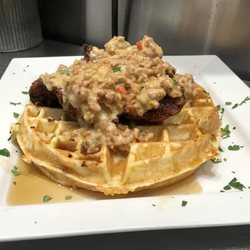 Photo Of Cassidy Country Kitchen Nanaimo Bc Canada En Waffles
