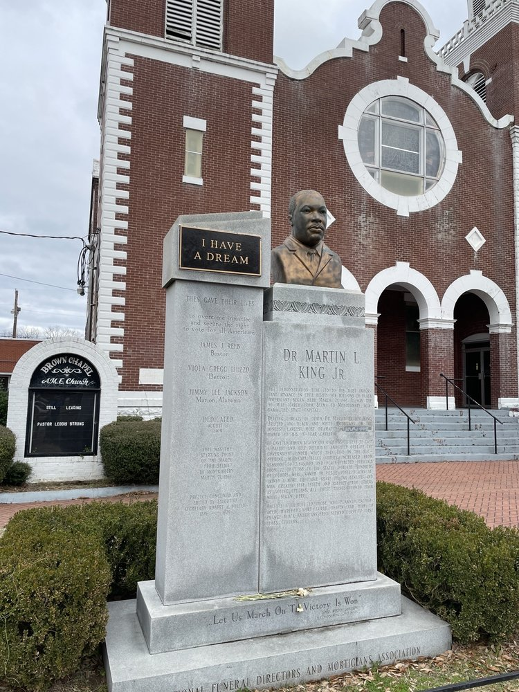 Brown Chapel AME Church: 410 Martin Luther King St, Selma, AL