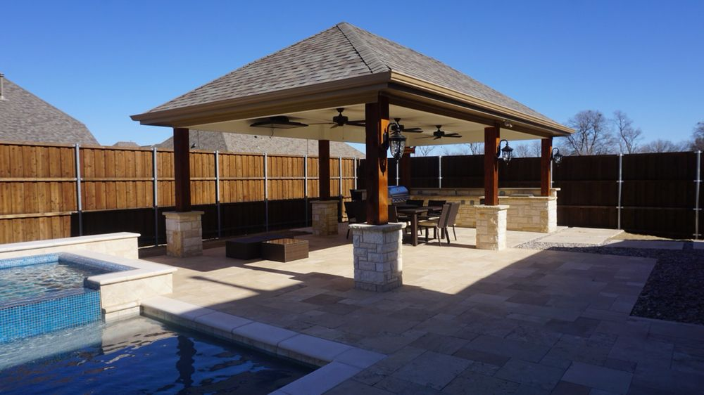 Photo Of Green Paradise Construction And Design Frisco Tx United States Install