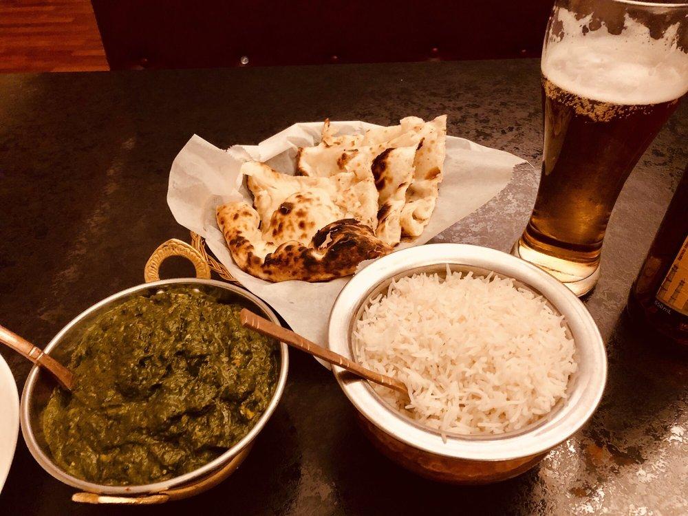 Food from Walla Walla Indian Cuisine