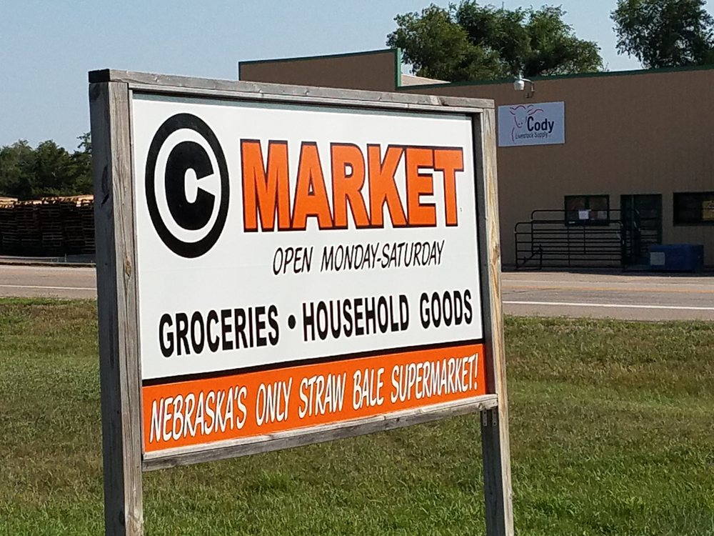 Circle C Market: 101 Cherry St, Cody, NE