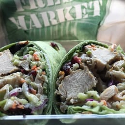 Grilled Chicken and Broccoli Slaw Wrap - Yelp