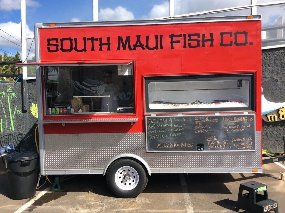 The spot for fresh fish yelp for South maui fish company