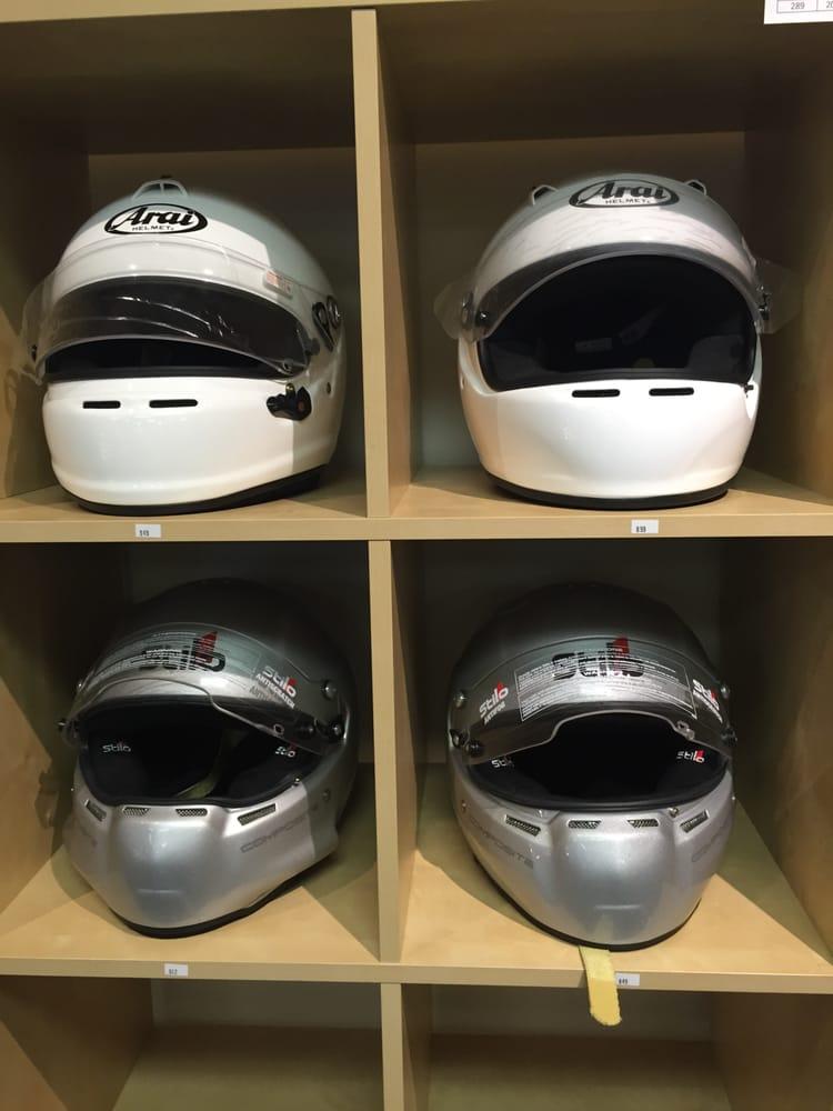 Auto Racing Helmets From Stilo Bell Racing Arai And Black Armor Yelp