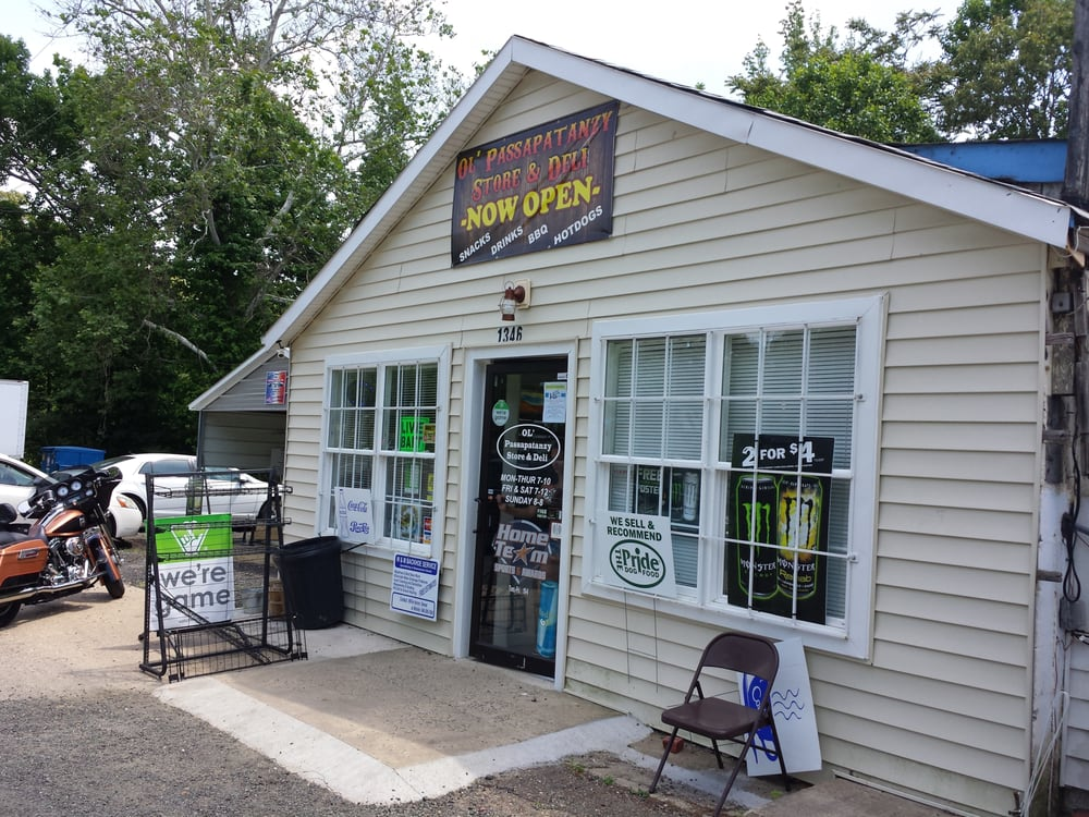Ol' Passapatanzy Store and Deli: 1346 Caledon Rd, King George, VA