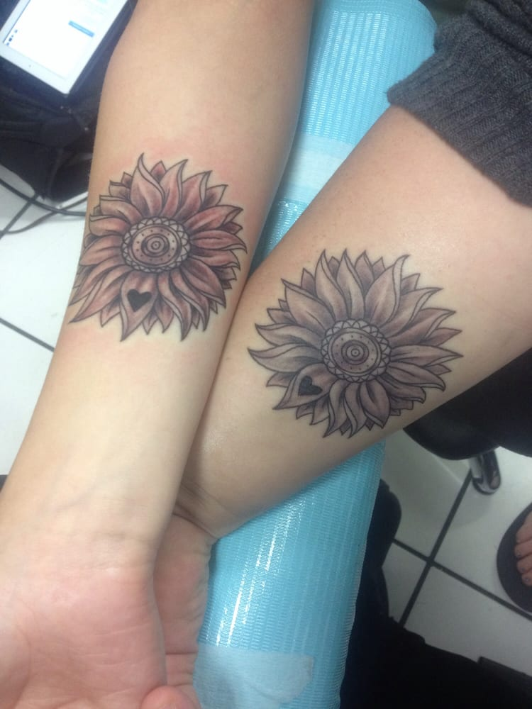 Matching Cousin Tattoos Done By Mario At Redwave Tattoo Yelp