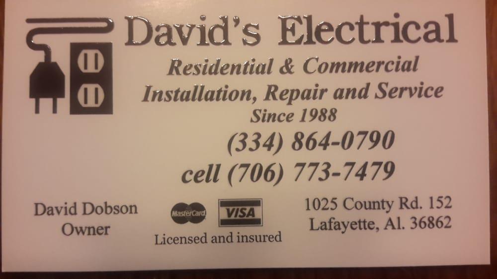 David's Electrical: 4333 24th St SW, Lanett, AL