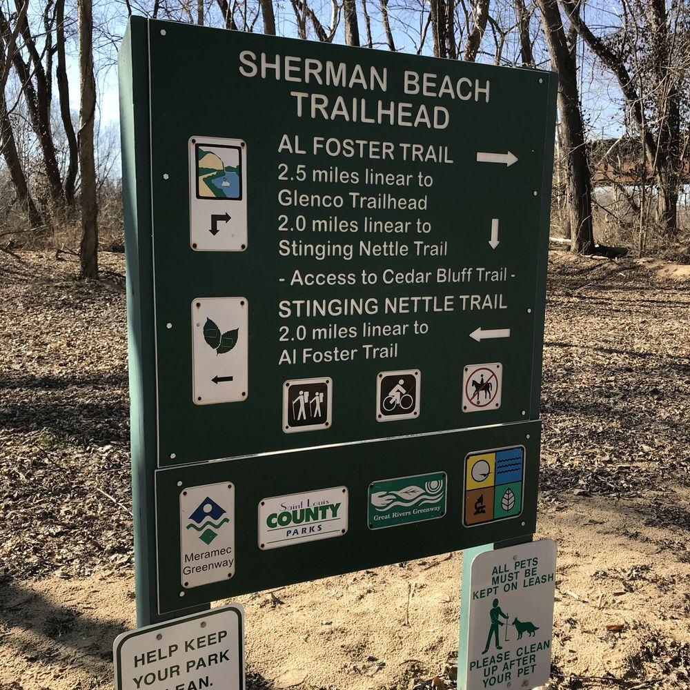 Sherman Beach Park: St Paul Rd, Meramec Township, MO
