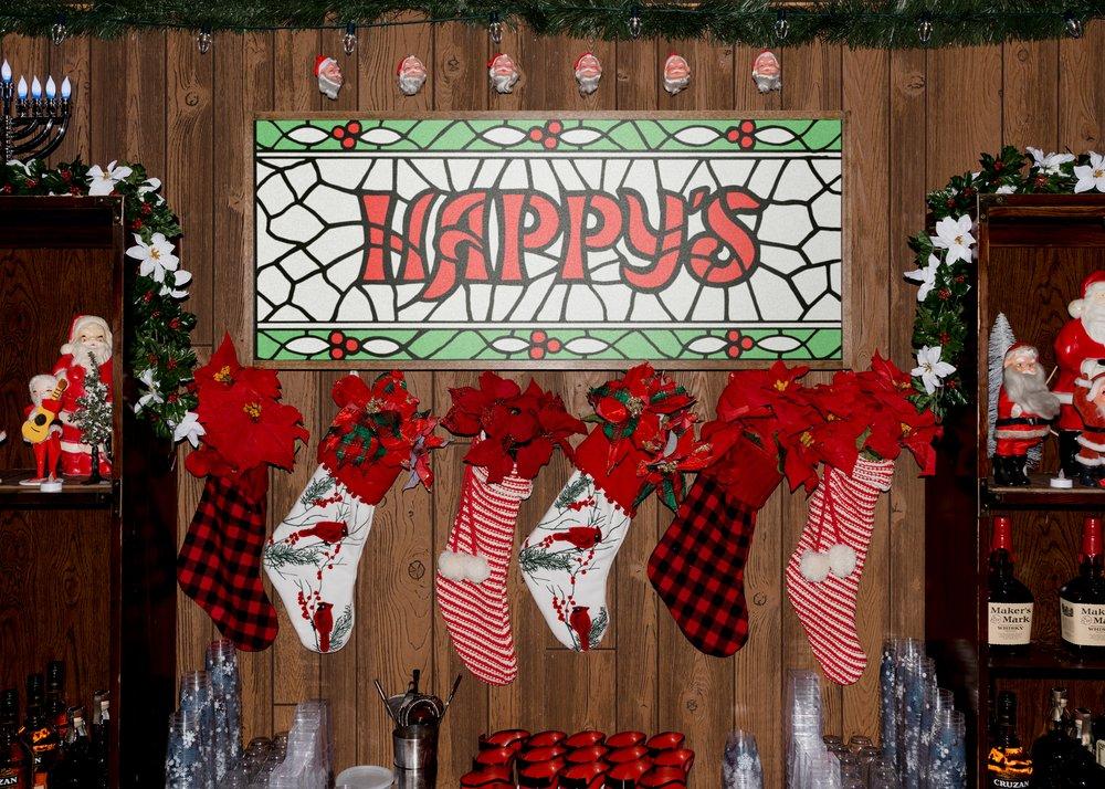 Happy's: A Holiday Bar