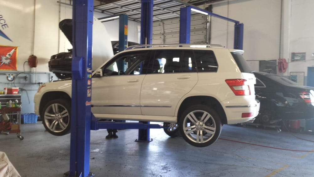 Performing 40k service on this 2012 Mercedes Benz GLK350 includes ...