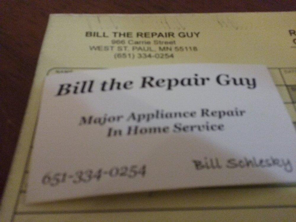 Bill the Repair Guy: 966 Carrie St, Saint Paul, MN