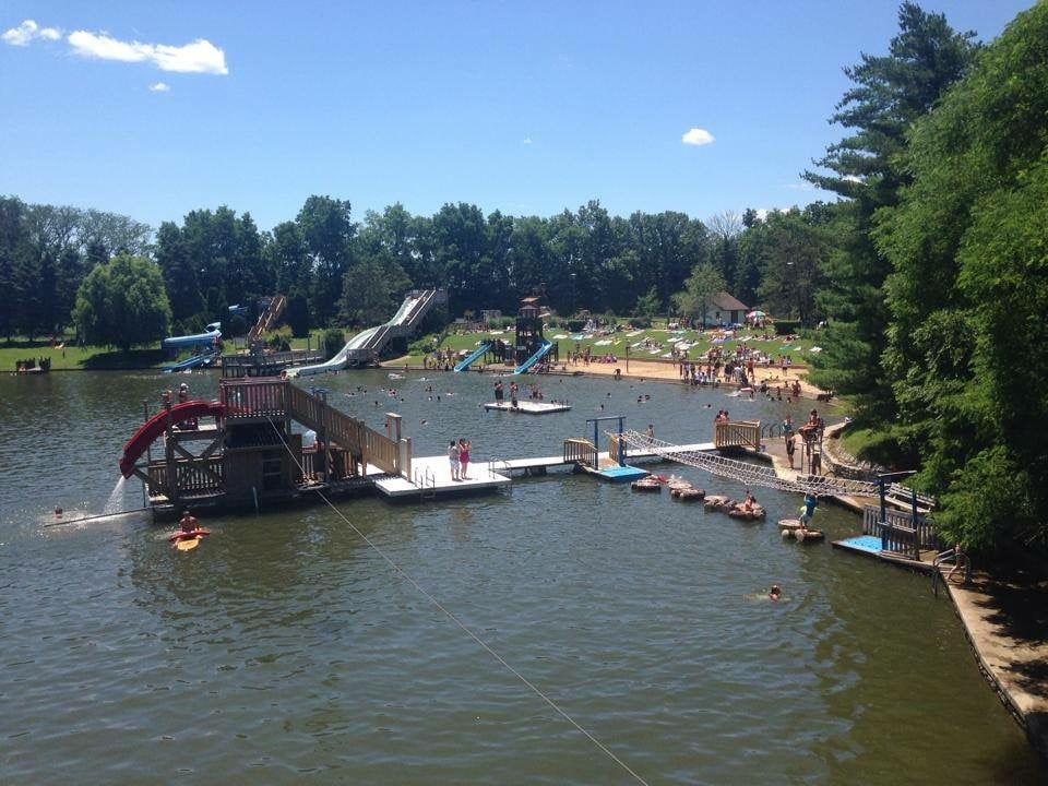 Pine Lake Water Park: 4640 W State Rd 218, Berne, IN