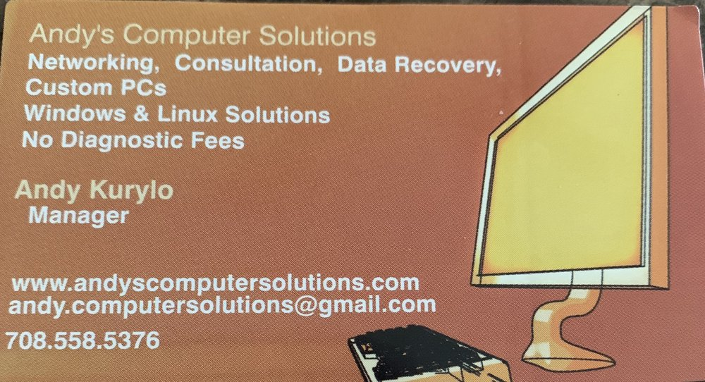 Andy's Computer Solutions: Joliet, IL