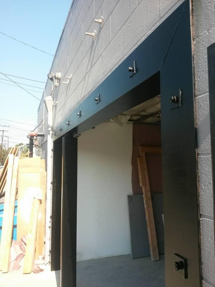 Custom Welded Structural Steel Door Frame - Yelp