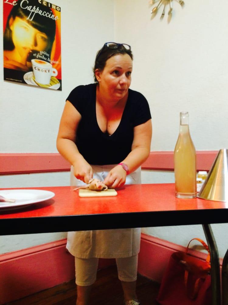 Aur lie notre candidate master chef pour les cours de - Cours de cuisine le notre ...