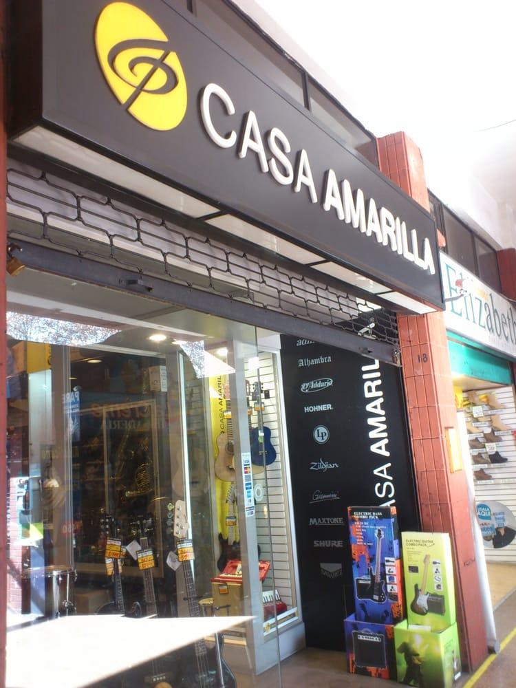 Casa amarilla musical instruments teachers hu rfanos Casa amarilla santiago