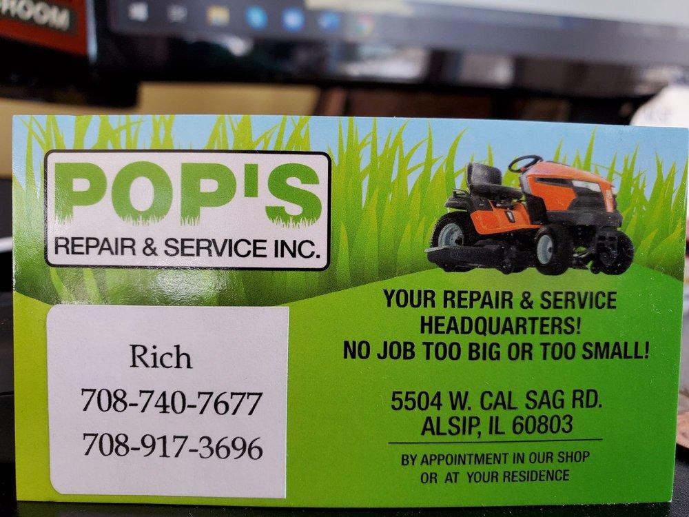 Pop's Repair & Service: 5504 W Cal Sag Rd, Alsip, IL