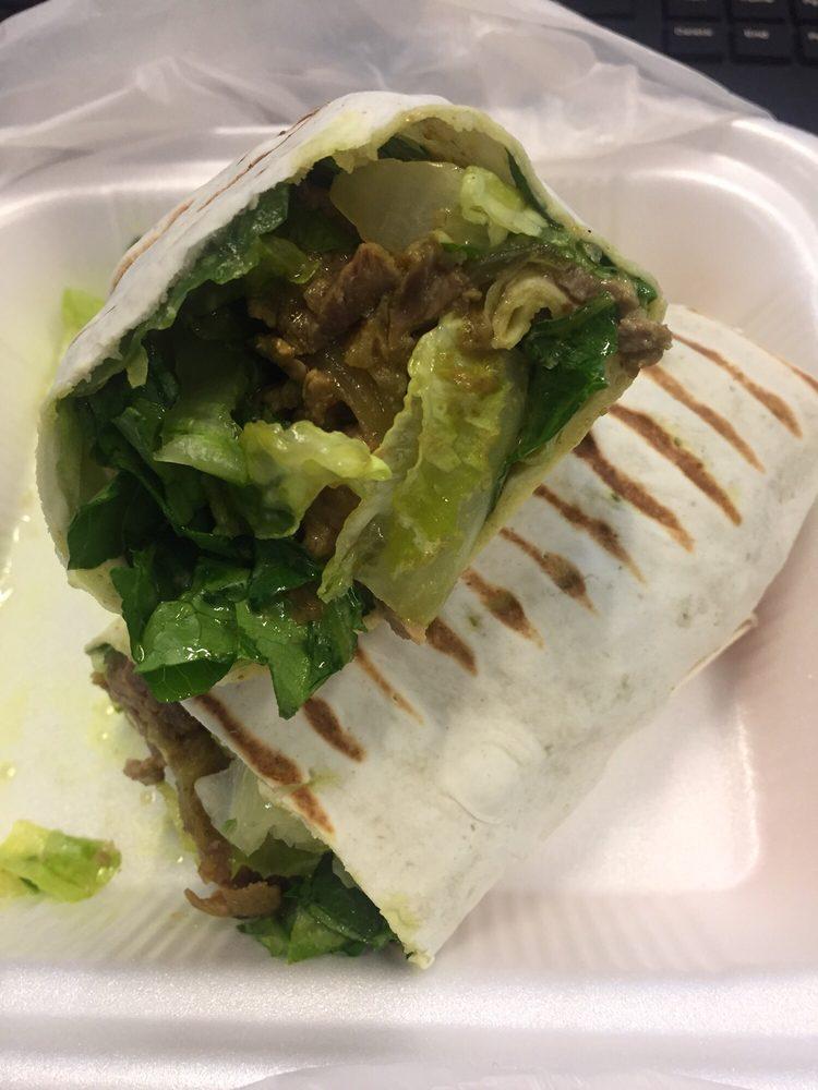 how to make beef shawarma wrap
