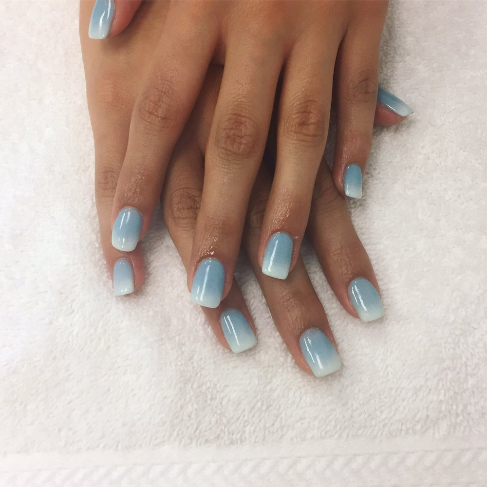 Ombre SNS nails - Yelp