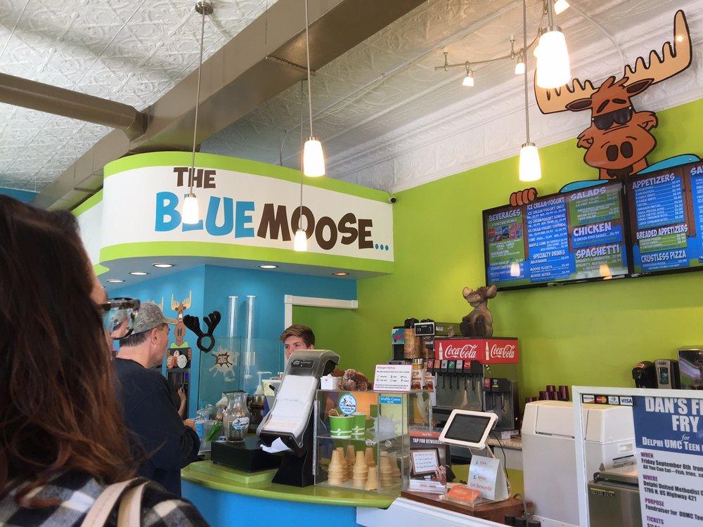 The Blue Moose: 102 W Main St, Delphi, IN