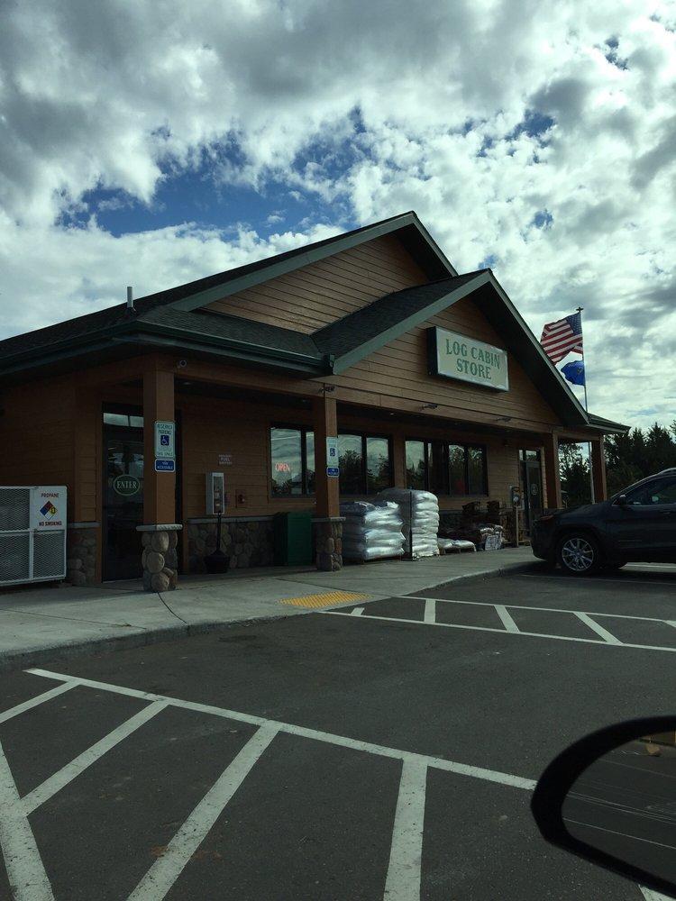 Log Cabin Store & Eatery: 30217 Hwy 35 & 77, Danbury, WI