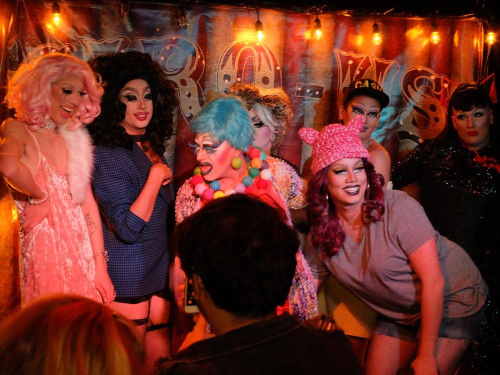 gay bars California