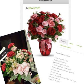 Photo of Fredericksburg Flowers - Fredericksburg, VA, United States. The arrangement received is