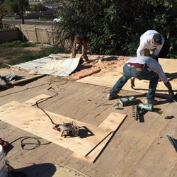 Photo Of Pinnacle Roofing   Phoenix, AZ, United States. Rotten Plywood  Being Replaced