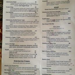 threefold cafe menu