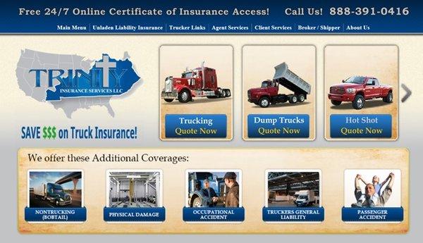 Trinity Insurance Services - Request a Quote - Auto