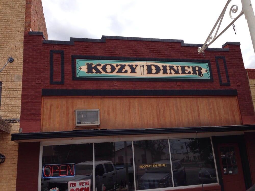 Kozy Diner: 214 S Main St, Hobart, OK