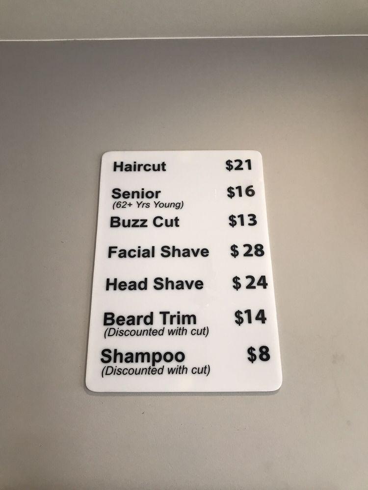 Razor's Edge Barber Shop: 22239 Marine View Dr S, Des Moines, WA