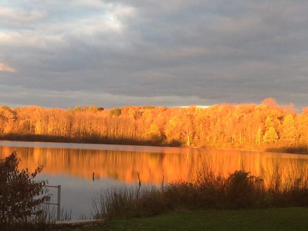 Fall Foliage At Sunset At Sunny Lake Yelp