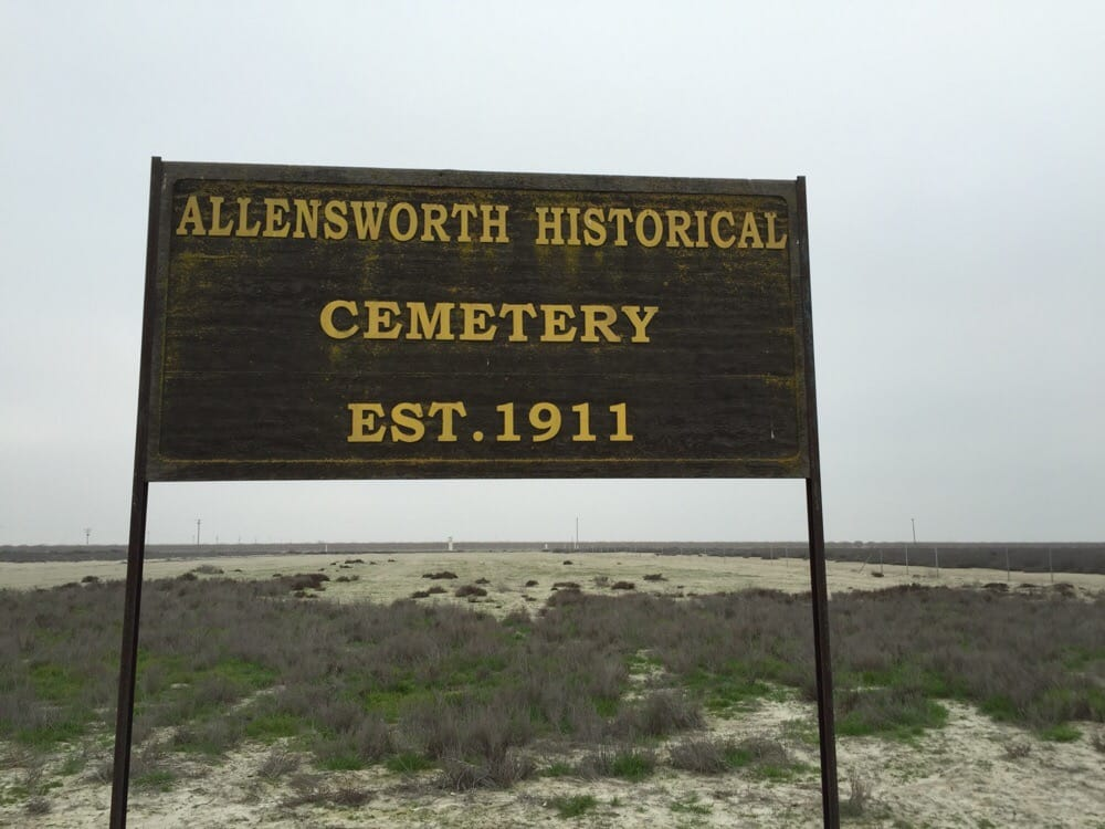 Allensworth Historical Cemetery: 7995 Rd 80, Earlimart, CA