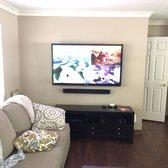 Photo Of Ideal Tv Installation Atlanta Ga United States Living Room Install
