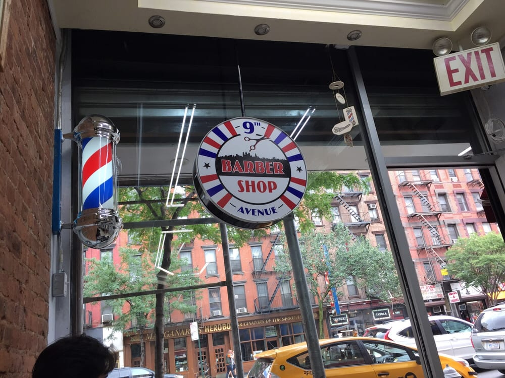 9th Avenue Barber Shop: 495 9th Ave, New York, NY