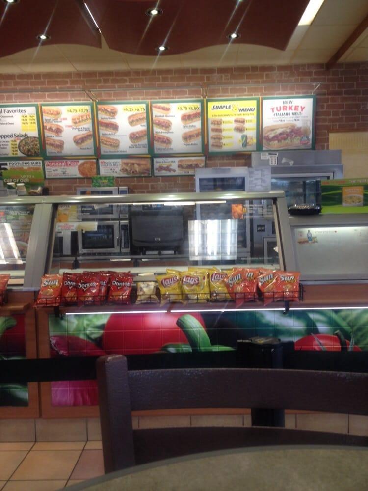 Subway: 5704 Jackson Street Ext, Alexandria, LA