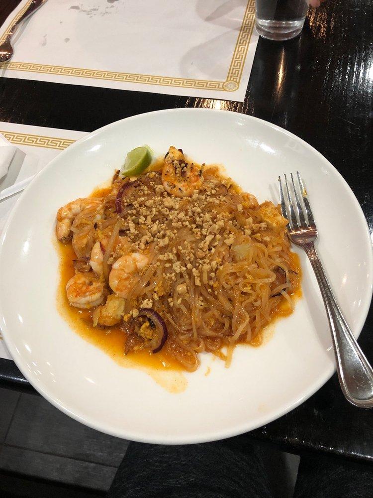 Food from King's Tandoor & Bar