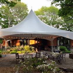 photo of backyard tent rental watertown ma united states our