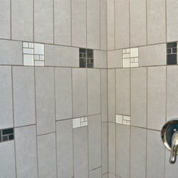 Photo Of Precision Tile Berkeley Ca United States Porcelain With Gl Innserts