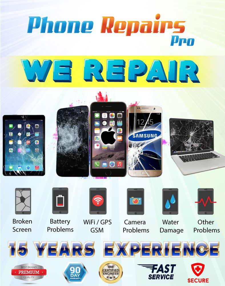 Phone Repairs Pro: 207 Closter Dock Rd, Closter, NJ